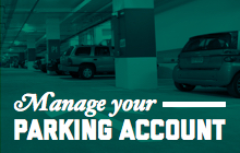 Manage your parking account
